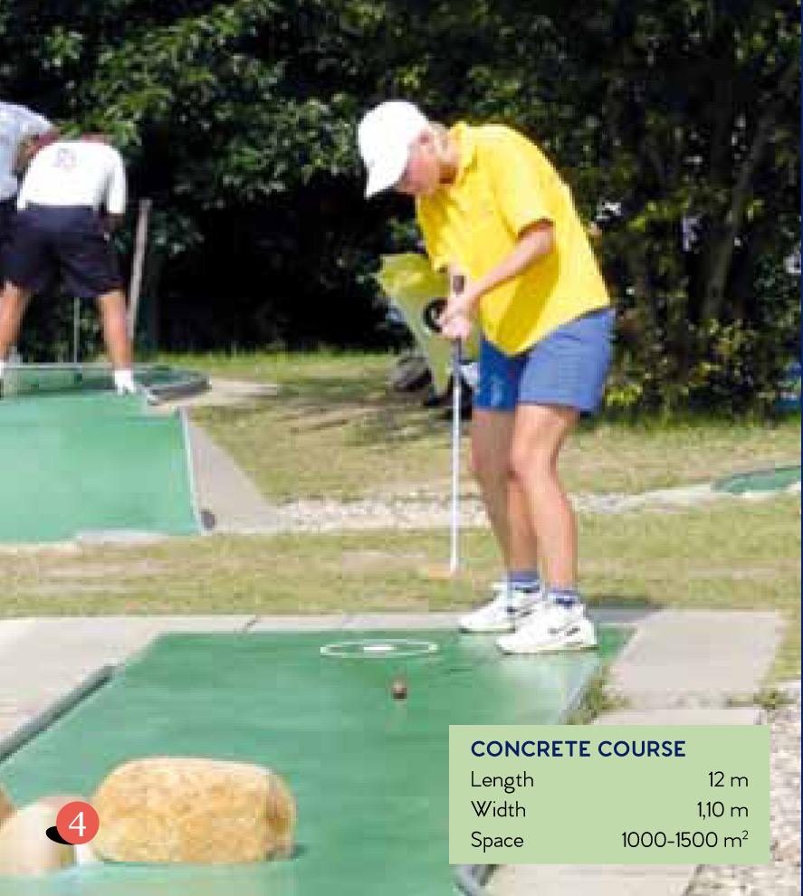 Types of Minigolf Courses on