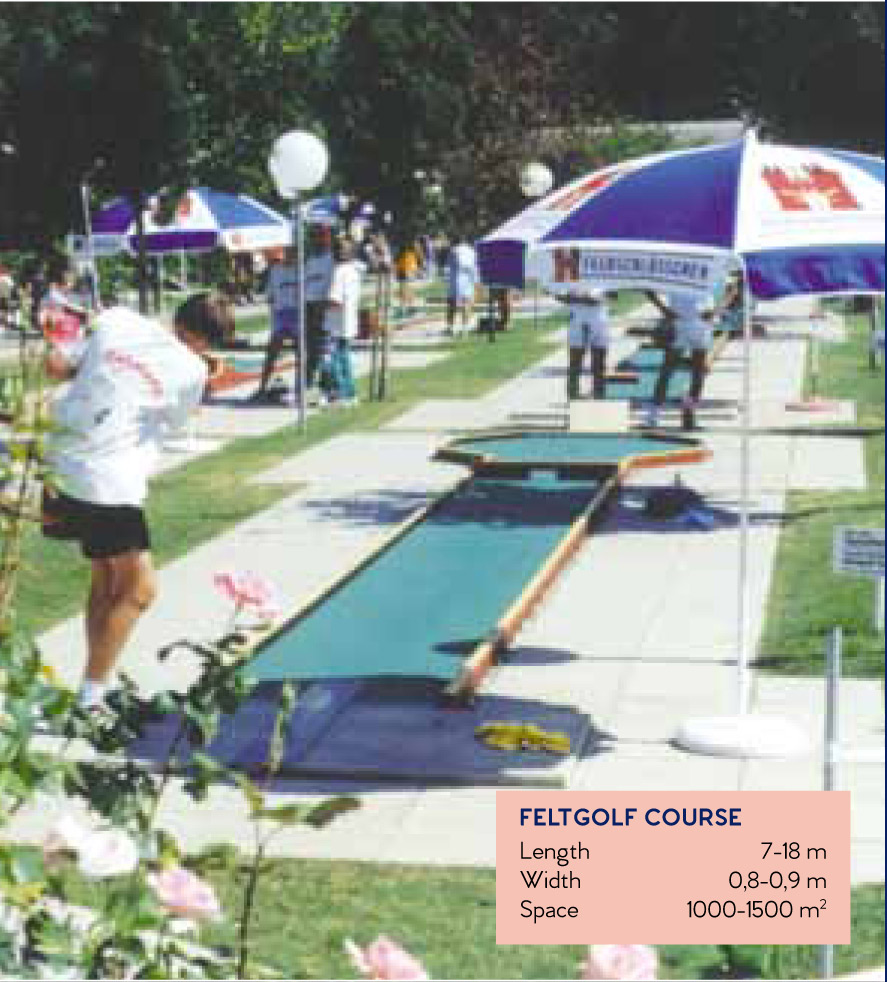 Types of Minigolf Courses
